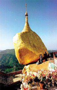 Mt Kyaiktiyo, Burma