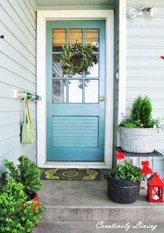 Exterior Door | summer back entry | Bayer Built Woodworks