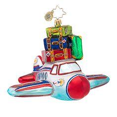 Radko In Flight Christmas Ornament