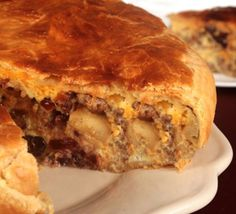 Wake house-guests with a sweet surprise by baking Jimmy Dean Sausage, Ricotta cheese, eggs, apples and cranberries in puff pastry.