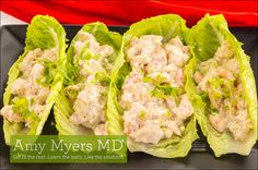Try this delicious, gluten-free, dairy-free, Avocado Chicken Salad Wrap recipe! It's Paleo approved and full of vitamins that support your immune system.