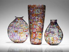 """End of the Day"" vases by Robin Mix"