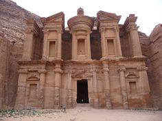 Deir o Monasterio de Petra en Jordania