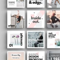 Amazing social media bundle designed for the ones who wish to stand out. 40 canva easy edit templates available Social Media Branding, Social Media Banner, Social Media Template, Social Media Design, Social Media Images, Social Media Graphics, Instagram Design, Instagram Grid, Instagram Posts