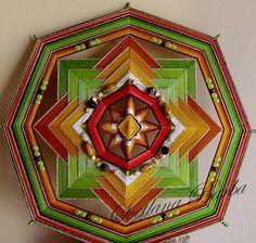 Mandala Ojo de dios Material prosperity by MandalaSvetlanaBarba