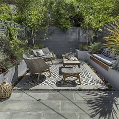 25 Landscape Design For Small Spaces | Pinterest | Low deck, Decking ...
