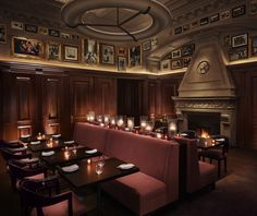 The Clocktower restaurant occupies what used to be the private offices and boardroom of the Chairman of the Metropolitan Life Insurance Company   The New York EDITION