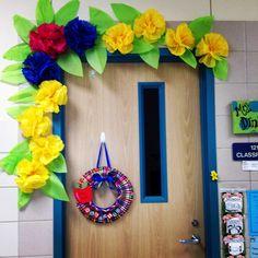 Spring Door Decoration  www.firstgradeshashay.com