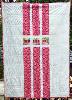 Idea for back of quilt