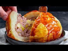 Umpleti varza cu carne si cartofi, iar musafirii vor cere portie dubla! Cookrate-Romania - YouTube Baked Potato, Camembert Cheese, Potatoes, Baking, Ethnic Recipes, Youtube, Food, Potato, Bakken