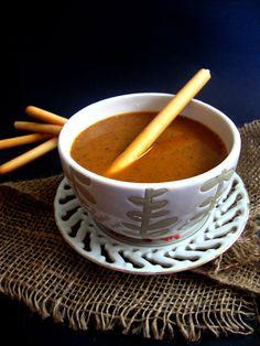 Roasted Tomato-Garlic Soup