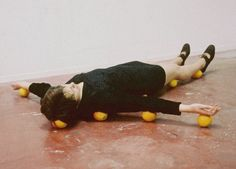 One Minute Sculptures, 1997 by Erwin Wurm