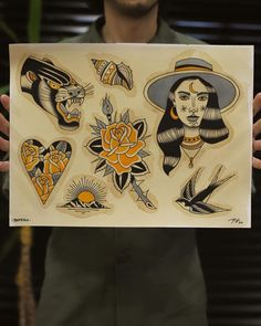 Traditional Flash, Tattoo Traditional, Motif Floral, Autumn Art, Female Bodies, Art Inspo, Tatoos, Old School, Number