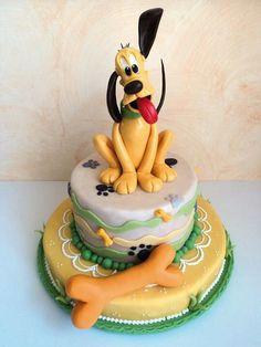 Pluto Cake.
