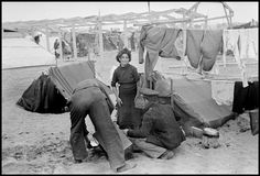 FRANCE. Argeles-sur-Mer. March 1939. Republican soldiers in an internment camp for Spanish refugees. (From the Mexican Suitcase)//Robert Capa