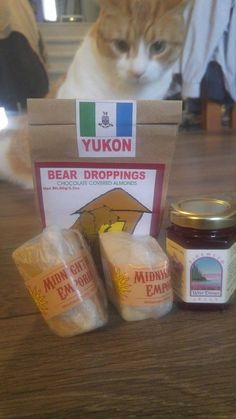 I asked my Santa to send me some local goodies.   I received some Fireweed Jelly.  I plan to try it soon.   I also recei...