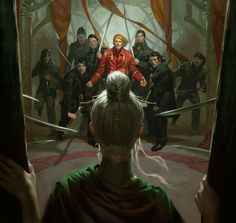 Enter Cadsuane: Revealing New Wheel of Time Art for Crown of Swords Trade Paperback | Tor.com