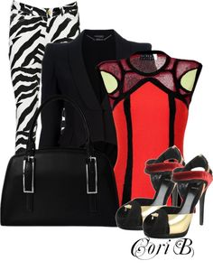 """Outside the Box!"" by cori-black ❤ liked on Polyvore"