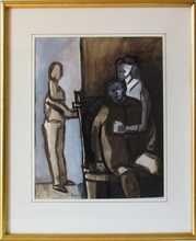 Paul ACKERMAN (1908-1981) - Peintre et Modèles