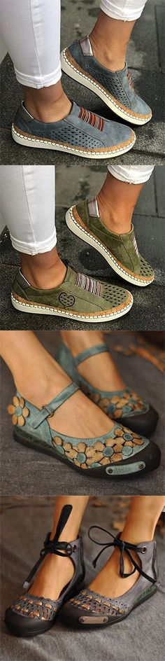 Women 2020 Spring Flat Shoes Enjoy Discount Now! Pretty Shoes, Cute Shoes, Me Too Shoes, Sock Shoes, Flat Shoes, Shoe Boots, Trendy Fashion, Womens Fashion, Fashion Shoes