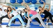 One Month Aerobic Classes with Massage, Steam Session and Makeover #aerobiclogo