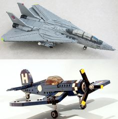 Tomcat by Ralph Savelsberg and Corsair by Mike Psiaki