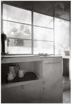 Kitchen Of Eileen Gray GrayDesign HistoryBauhaus ModernismConcreteVillaWithinWorkKitchen