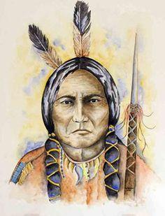 Greet van Viegen - Sitting Bull