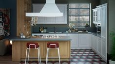 The kitchen California of Annamaria Palmiri | Veneta Cucine ...
