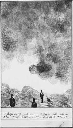 Fingerprint Landscape - Saul Steinberg, 1950