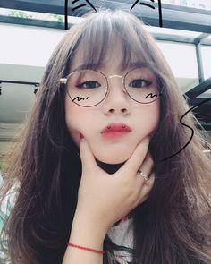 Korean Girl Photo, Korean Girl Fashion, Cute Korean Girl, Cute Asian Girls, Cute Girls, Uzzlang Girl, Japonese Girl, Kawaii Wigs, Beautiful Girl Makeup
