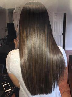 Shop Rabake Hair Brazilian Straight Human Hair 3 Bundles With Closure Brazilian Virgin Hair Straight With Closure Beautiful Long Hair, Gorgeous Hair, Haircuts Straight Hair, Hair Color Shades, Brunette Hair, Hair Highlights, Dark Hair, Blond, Hair Inspiration