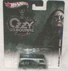 HOT WHEELS 2011 OZZY OSBOURNE '66 DODGE A100 REAL RIDERS 1:64 NEW
