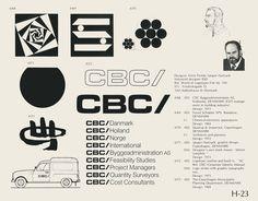 Eric Carl Collection of vintage logos from a edition of the book World of Logotypes jpg Logos Logo Branding, Branding Design, Trademark Symbol, Vintage Logo Design, Vintage Logos, Graphic Design, Logo Luxury, Brand Symbols, Logo Minimalista