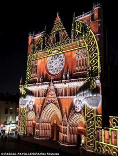 Festival of Lights, Lyon, France: http://www.beyond-london-travel.com/London-to-Lyon.html