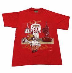 #Vintage #1990s #90s 1993 San Francisco #49ers #NFL Shirt Made in USA #Mens Size Medium