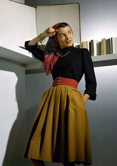 For VOGUE, 1941.