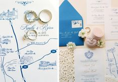 This Portuguese Themed Wedding Will Make You Forget It's In California. Rich with white and blush florals, the blue made everything pop. Wedding Invitation Etiquette, Wedding Stationery, Wedding Invitations, Wedding Season, Our Wedding, Wedding Venues, Portuguese Wedding, Makeup Trial, Flower Installation
