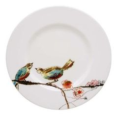 Lenox Simply Fine Chirp Salad/Luncheon Plate : Amazon.com : Kitchen & Dining