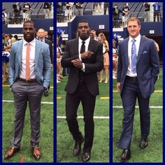 It's GAME DAY time for these handsome men to put in work tonight ! Let's Go DeMarco Murray, Dez Bryant, & Jason Witten! Lets Go Cowboys