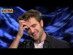 ▶ robert pattinson extra tv interview breaking dawn november 2011 - YouTube
