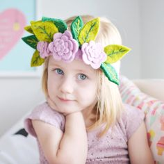 """Looking for fun nursery décor? Playable nursery accents from Fiona Walker England is where the excitement begins! This cute flower crown can turn their adorable, quirky animal heads into whimsical animal creatures as well as spark your daughters' imagination to turn into a beautiful fairy princess.Shop """"Fiona Walker England Crowns"""" and more at babycubby.com! Fairy Crown, Flower Crown, Fiona Walker, Christmas Gift List, Car Seat And Stroller, Nursery Decor, Nursery Ideas, Fairy Princesses, Beautiful Fairies"""