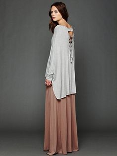 Axel Caplet Boxy Long Sleeve Tee. http://www.freepeople.com/whats-new/axel-caplet-boxy-long-sleeve-tee/