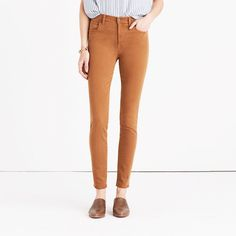 """9"""" High-Rise Skinny Jeans: Garment-Dyed Edition"""