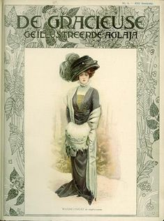 De Gracieuse March 1909, Edwardian Fashion Plate