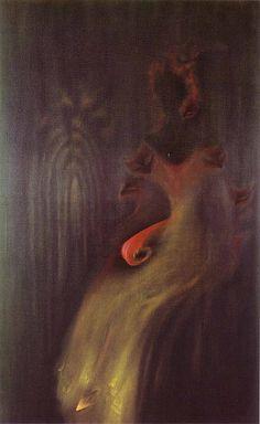 """Fardee pour Apparaitre,"" 1962. by Toyen (Marie Cerminova)"