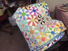 "Country Threads blog - ""Wildflower"" quilt"