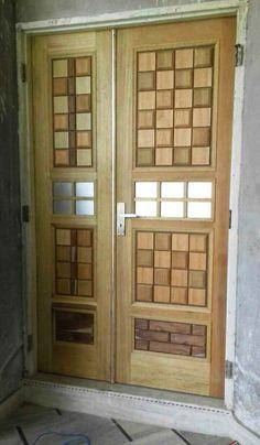 Door Design Interior, Main Door, Entrance Doors, Door Ideas, Double Doors, Wooden Doors, Tall Cabinet Storage, Interiors, Furniture