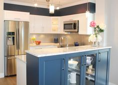 59 best completed kitchen renovations images kitchen remodeling rh pinterest com