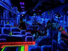 3D blacklight mini golf =]